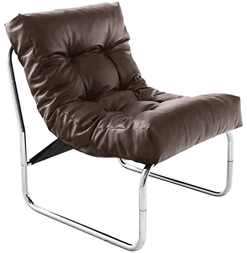 Alterego 'LOFT'- lounge-Sessel, Braun