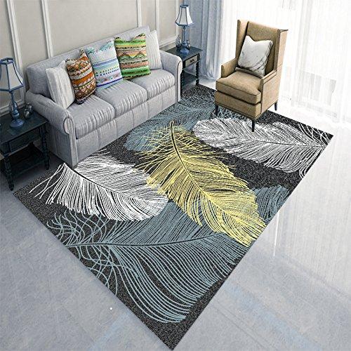 BAGEHUA Nordic Geometrische Teppich Minimalistischen Wohnzimmer Couchtisch Schlafzimmer Nacht Rechteckige Fußmatte Matte Anpassung