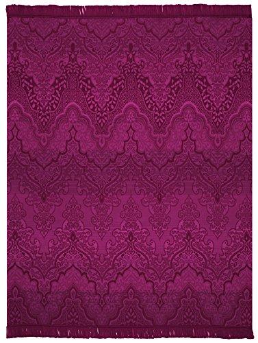 Biederlack Baumwolldecke/ Überwurf, 150x 200cm, exquisit, mehrfarbig