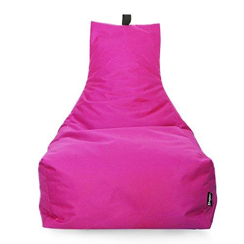 BuBiBag LOUNGE Sitzsack Sitzkissen XXL Tobekissen Bodenkissen Beanbag Kissen, für Kinder und Erwachsene