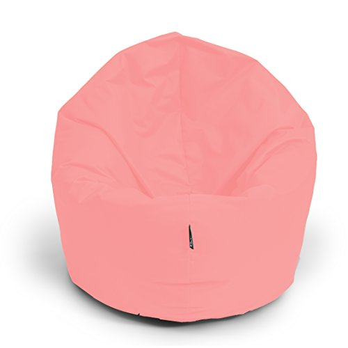 BuBiBag Sitzsack 2-in-1 Funktionen mit Füllung Pastelfarben Sitzkissen Bodenkissen Kissen Sessel BeanBag