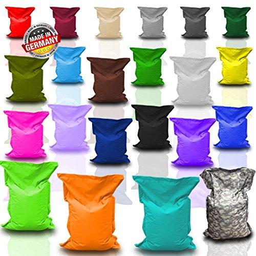 BuBiBag Sitzsack Sitzkissen Bean Bag Rechteck Größe 160 x 145 cm Indoor und Outdoor
