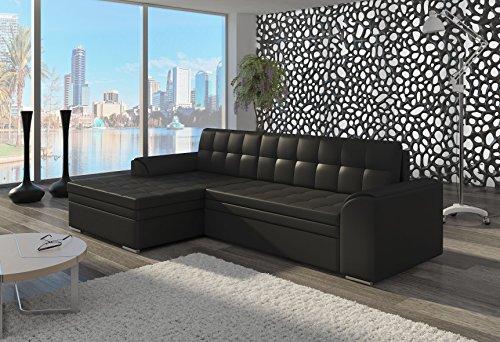 Couch Couchgarnitur Sofa Polsterecke CF20 Ottomane links, Soft 11 (die Ottomane kann schriftlich kostenlos auf die andere Seite geändert werden) Wohnlandschaft Schlaffunktion Wohnzimmer Kinderzimmer Gästezimmer