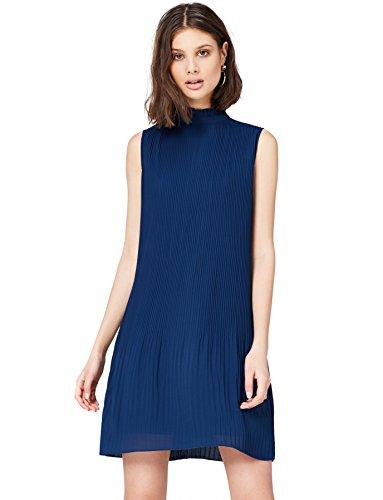 FIND Damen Plissee Kleid