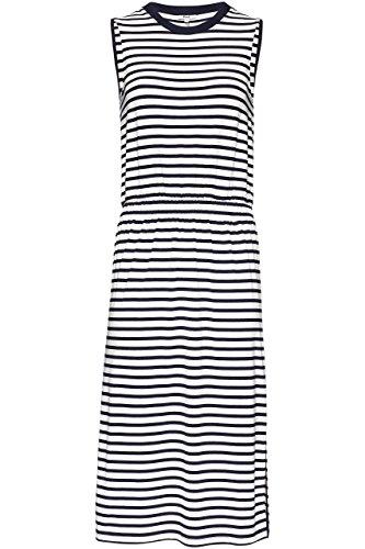 FIND Kleid Damen Tailliert mit Streifenmuster