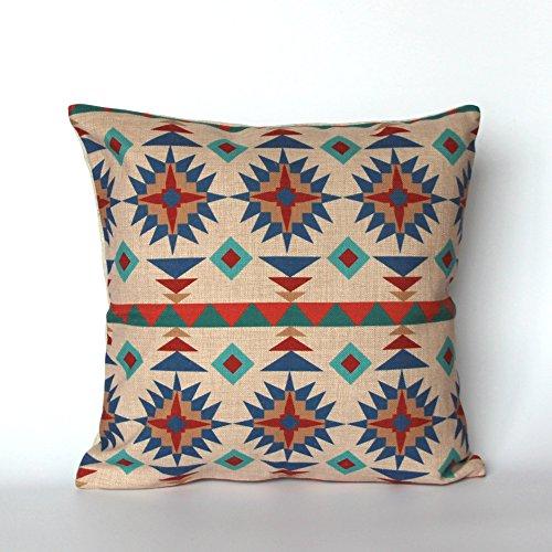 Geometrische dekorativer Überwurf-Kissenbezug Ethnic Kissen Tribal Kissenbezug