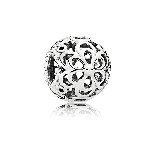 Pandora Silber Charm durchbrochende Apfelblüte 790965