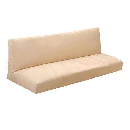 schlafsofabezug sofa decke abdeckung f r schlafsofa ohne armlehnen staubdichte weich elastisch. Black Bedroom Furniture Sets. Home Design Ideas