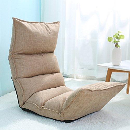 Sitzkissen BeanBag Recliner Kissen Freizeit Faltbare Boden Stuhl Einstellbare Geneigt Multifunktions-Recliner Sofa Stuhl Sofa Recliner Loon Chair