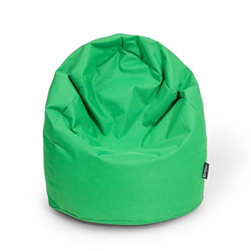 Sitzsack XL Apfelgrün mit Füllung BeanBag Sitzkissen Bodenkissen Kissen Sessel