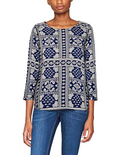 TOM TAILOR Damen Bluse Casual Print Blouse Shirt