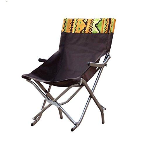 ZL-Sedie pieghevoli Outdoor Klappstuhl aus Aluminium Mittagspause Stuhl Half Lounge Sessel Sessel Angel Chaiselongue