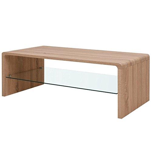 vidaXL Hochglanz Couchtisch Wohnzimmer Beistelltisch Sofa Kaffeetisch mehrere Auswahl