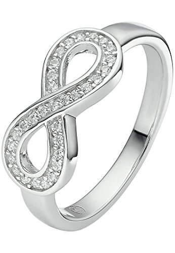 C-Collection by CHRIST Damen-Ring 925er Silber 31 Zirkonia (silber)