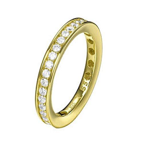 Joop! Damen-Ring 925 Silber Zirkonia weiß Rundschliff Gr.57 JPRG90788B180