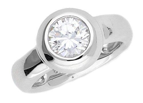 Joop! Damen-Ring JP-Lana 925 Silber Zirkonia weiß - JPRG90736A5