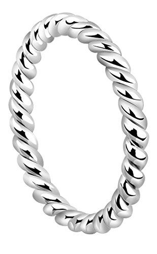 Nenalina Damen Silber-Ring, handgearbeitet aus 925 Sterling Silber, 313091-000
