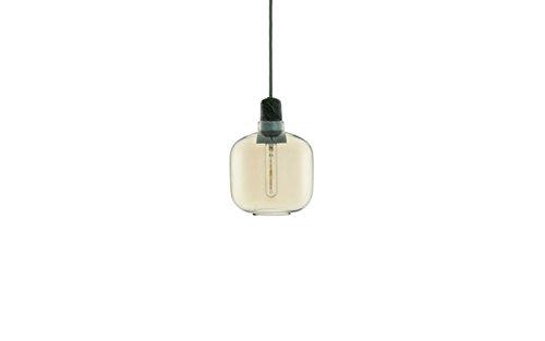 Normann Copenhagen - Amp Hängeleuchte - Gold/grün - S - Simon Legald - Design - Deckenleuchte - Pendelleuchte - Wohnzimmerleuchte