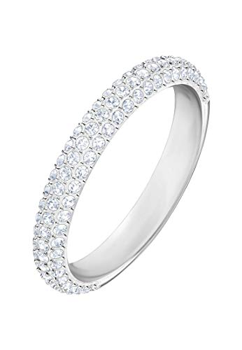Swarovski Damen-Ring STONE Metall Swarovski Kristalle (silber)