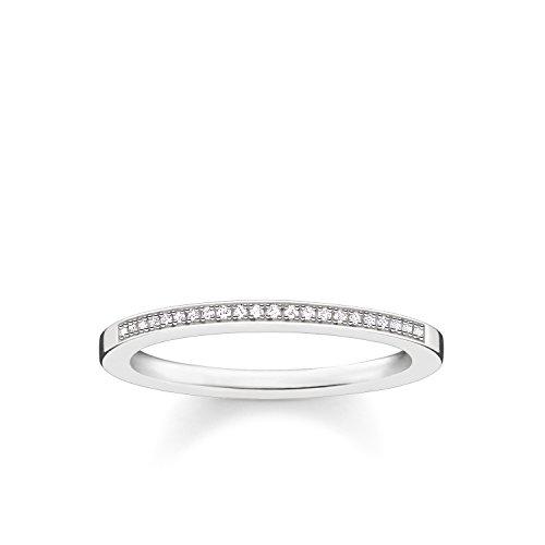 THOMAS SABO Damen Ring 925er Sterlingsilber D_TR0006-725-14
