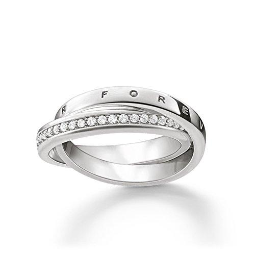THOMAS SABO Damen Ring Glam & Soul Together Forever 925 Sterling Silber