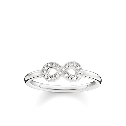 THOMAS SABO Damen Ring Infinity 925er Sterlingsilber D_TR0001-725-14