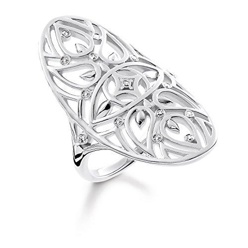 THOMAS SABO Damen Ring Ornament 925er Sterlingsilber D_TR0025-725-21