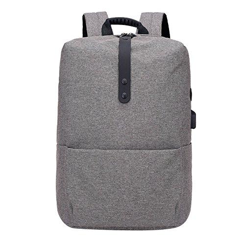 HARRYSTORE Mode multifunktionale hohe Kapazität Anti - Theft Rucksack Computer Laptop Tasche mit Usb