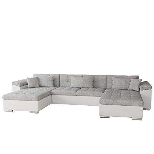 mirjan24 ecksofa wicenza bris elegante big sofa mit schlaffunktion bettfunktion technologie. Black Bedroom Furniture Sets. Home Design Ideas