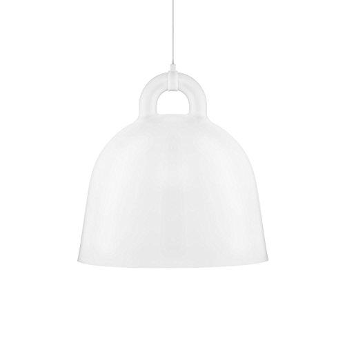 Normann Copenhagen Bell Hängeleuchte - weiß - Ø 55 cm - Andreas Lund & Jacob Rudbeck - Design - Deckenleuchte - Pendelleuchte - Wohnzimmerleuchte