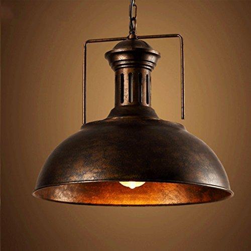 """BAYCHEER 16"""" Pendelleuchte Industrieleuchte mit rustikalem Dome/Schüsselanordnung in Kupfer (Kupfer)"""