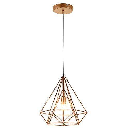[lux.pro] LED Hängeleuchte Industria/Deckenleuchte (1 x E27 Sockel)(37cm x Ø 40cm) Hängeleuchte/Vintage / Retro Design/Industrial Design