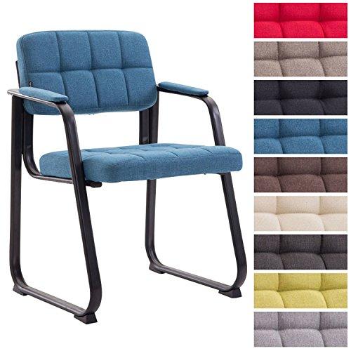 clp besucherstuhl canada b mit hochwertiger polsterung und stoffbezug i wartezimmerstuhl mit. Black Bedroom Furniture Sets. Home Design Ideas
