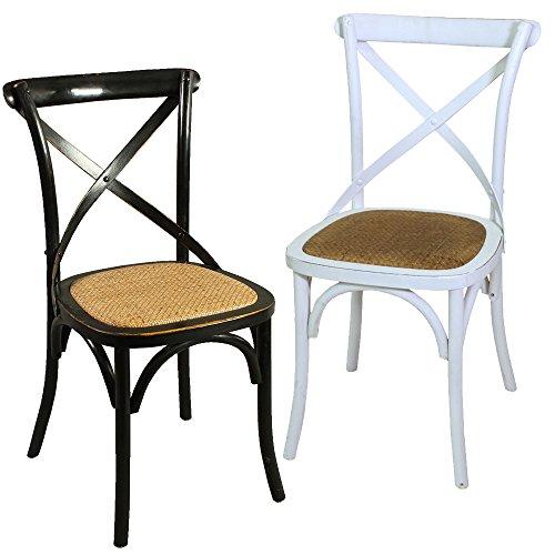 Stuhl X-Chair Küchenstuhl Esszimmerstuhl Esszimmer Holzstuhl Bistrostuhl
