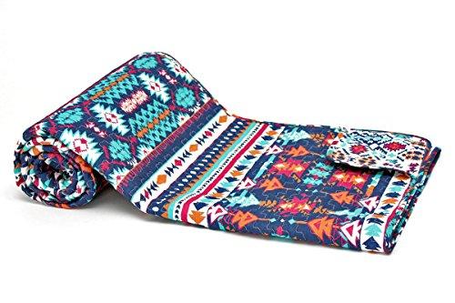 1001 Wohntraum 15S01-1 Quilt Inka Ethno Plaid Tagesdecke Decke