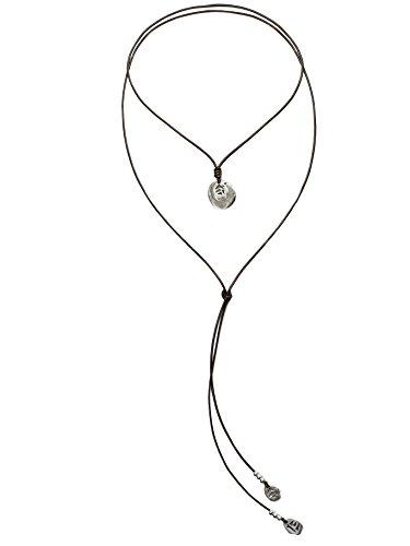 Beau Soleil Jewelry Lederkette Tribal Coins Ibiza Style Lederschmuck Halskette