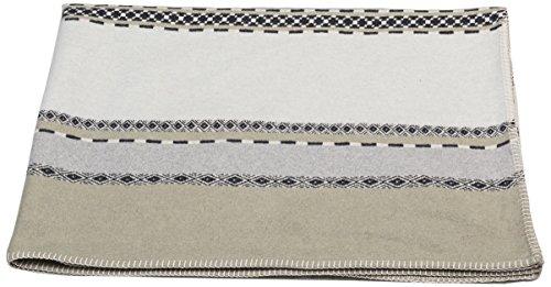 David Fussenegger Sylt Baumwolldecke Afrika Streifen, Baumwoll/Mischgewebe