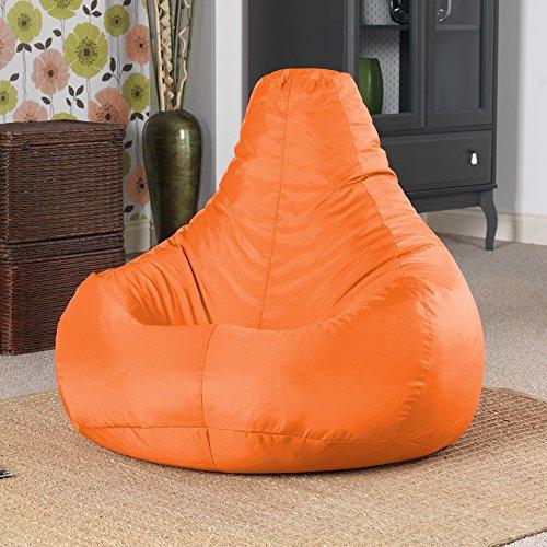 """Designer """"Recliner"""" Liegessel Gaming Sitz Sack – Innen & Außen Sitsack Kissen (Wasserabweisend) von Bean Bag Bazaar®"""