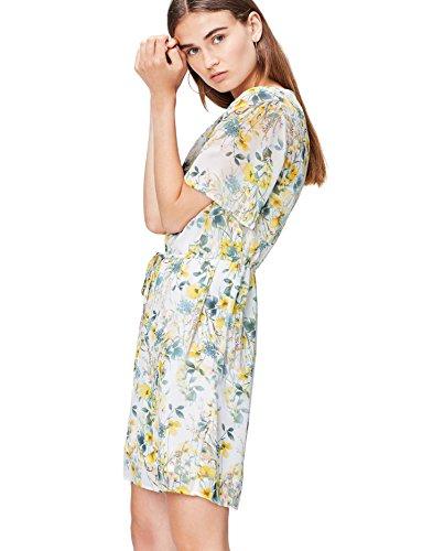FIND Damen Mini Blumenkleid