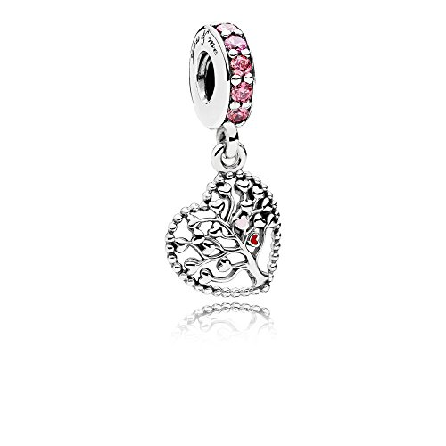 Familien Stammbaum Charm-Anh?nger aus Sterling-Silber aus Sterling-Silber mit Cubic Zirkonia