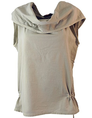 Guru-Shop Ethno Shirt Hoodie Goa Chic, Damen, Baumwolle, Tops, T-Shirts, Shirts Alternative Bekleidung