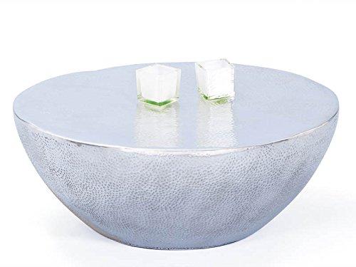 Inter Link 87300500 Couchtisch Lounge Tisch Design Beistelltisch Wohnzimmer Tisch Alu rund 70 cm NEU