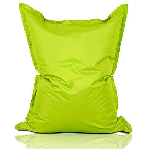 Lumaland Luxury Riesensitzsack XXL Sitzsack 380l Füllung 140 x 180 cm Indoor Outdoor verschiedene Farben