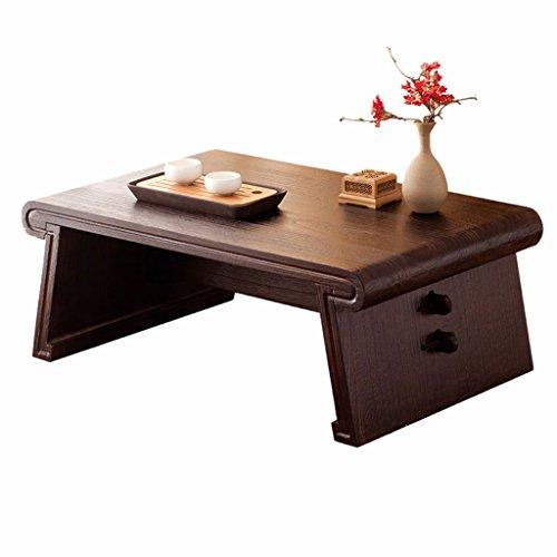 Massivholz Couchtisch Japanische rechteckige Couchtisch Retro-Erker Tisch Tatami Tisch Zen Schreibtisch Antike Teetisch Niedrigen Tisch Abnehmbar