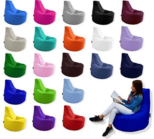 Patchhome Gamer Kissen Lounge Kissen Sitzsack Sessel Sitzkissen In & Outdoor geeignet fertig befüllt