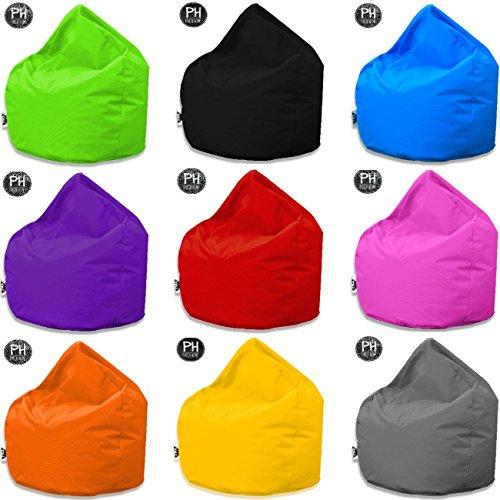 Patchhome Sitzsack Tropfenform für In & Outdoor XL 300 Liter - mit Styropor Füllung in 25 versch. Farben und 3 Größen