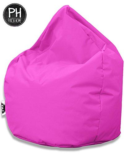 Patchhome Sitzsack Tropfenform für In & Outdoor XXL 420 Liter - mit Styropor Füllung in 25 versch. Farben und 3 Größen