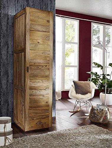 Sheesham massiv Holz Möbel geölt Kleiderschrank Palisander massiv Möbel Massivholz braun Nature Brown #502
