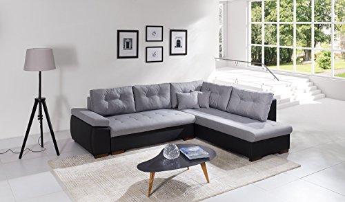 Sofa Couchgarnitur Couch Sofagarnitur RAVENNA 2 L Polstergarnitur Polsterecke Wohnlandschaft mit Schlaffunktion