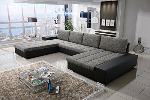Sofa Couchgarnitur Couch Sofagarnitur VERONA 6 U Polstergarnitur Polsterecke Wohnlandschaft mit Schlaffunktion